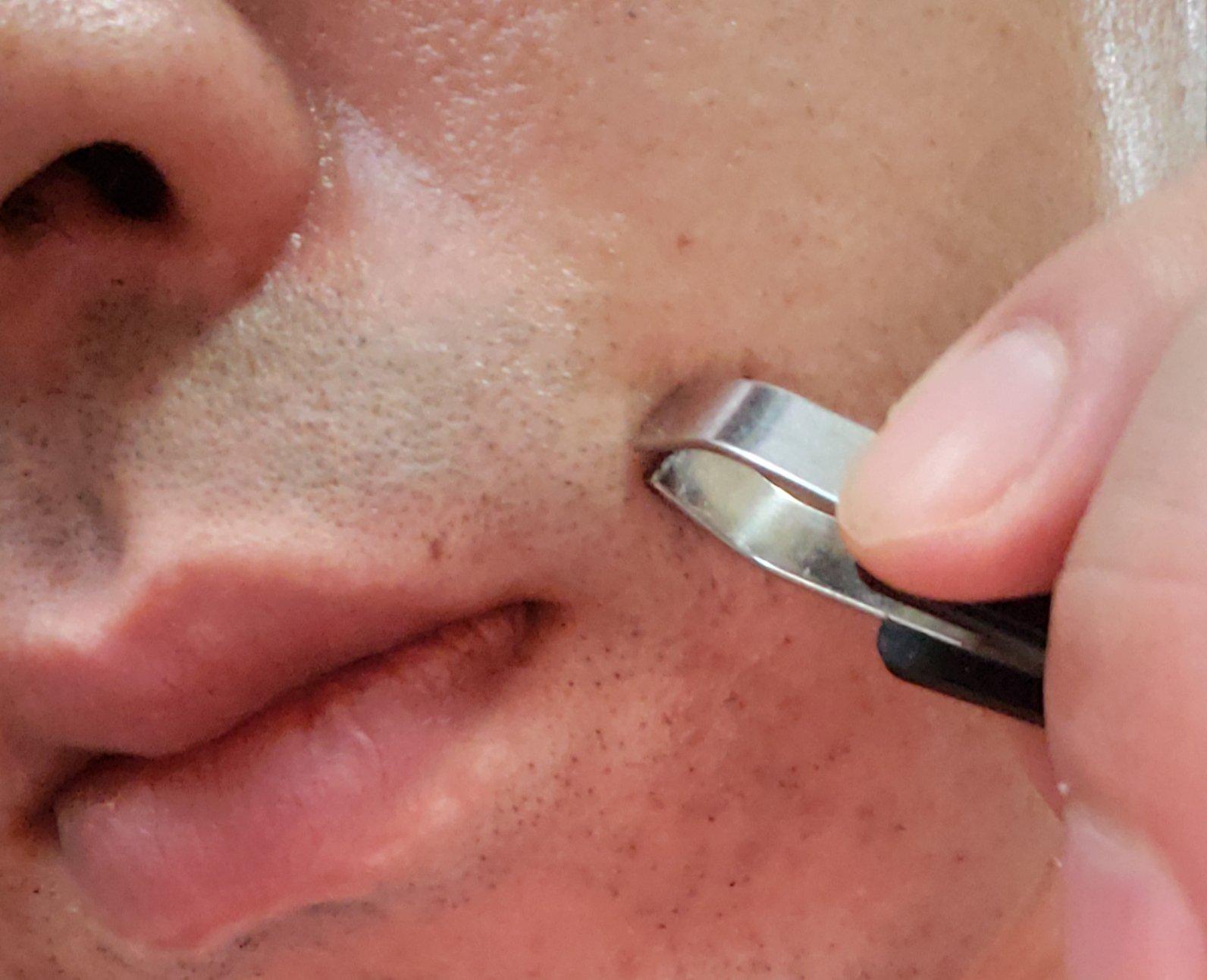 髭を抜く癖を直す方法